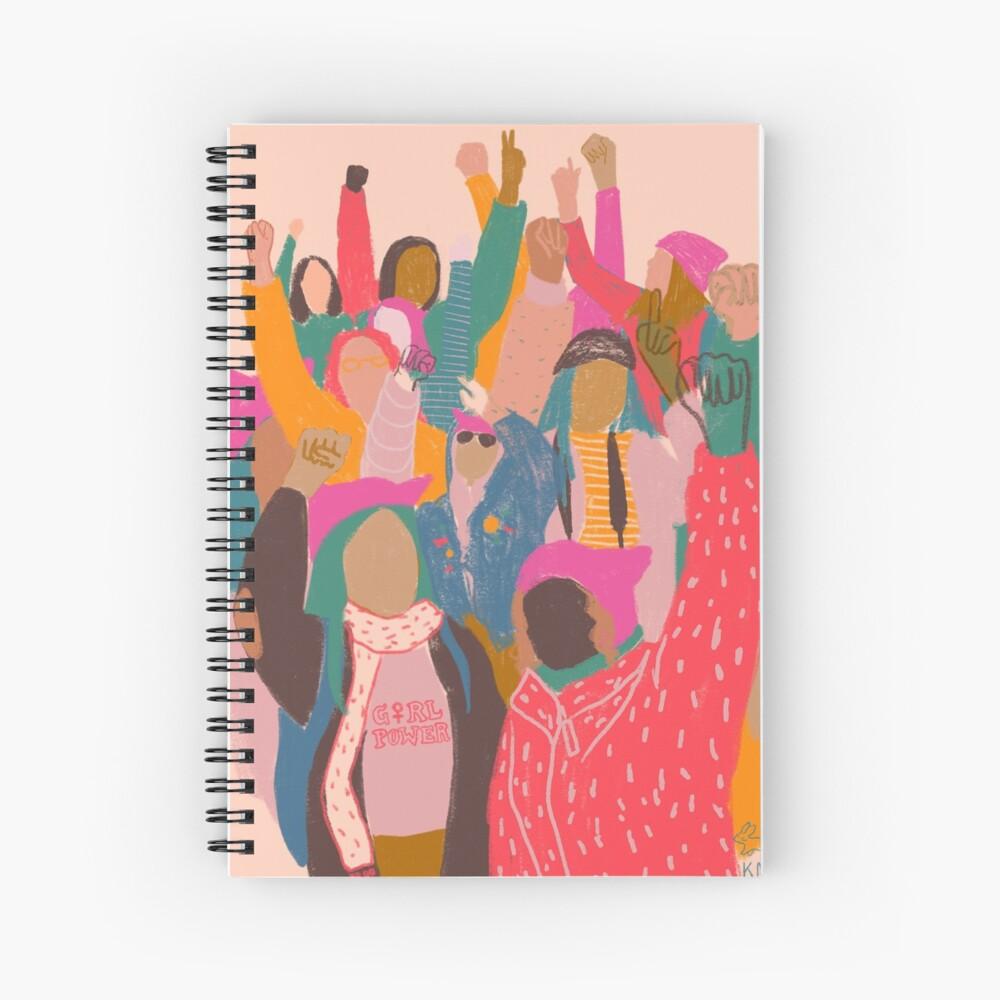 Women's March Spiral Notebook