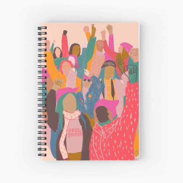 Women's March Spiral Notebook