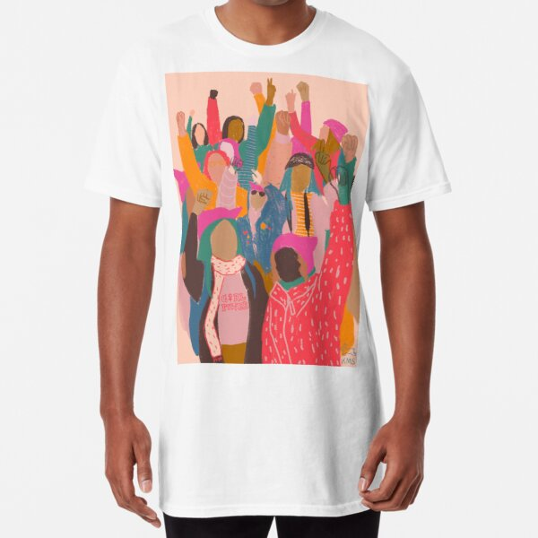 Women's March Long T-Shirt