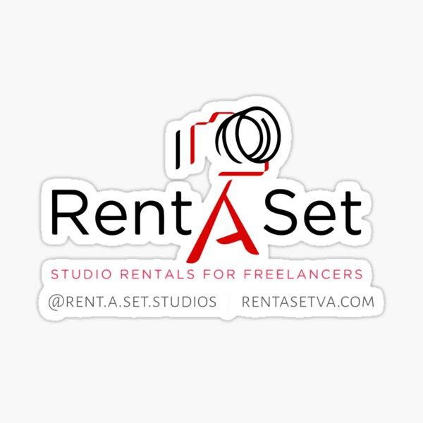 Rent a Set Merch Sticker