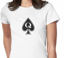 Queen of Spades Gifts and Products Womens Fitted T-Shirt