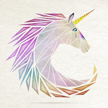 unicorn cercle by Manoou