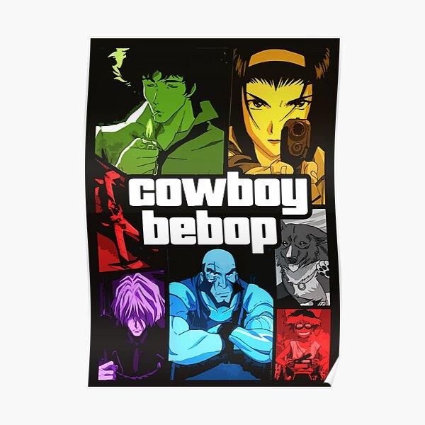 Cowboy Bebop GTA V mosaic  Poster