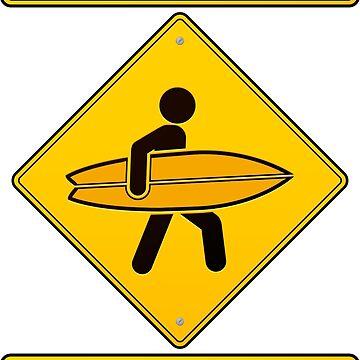 Caution! Surfers! by 1enchik