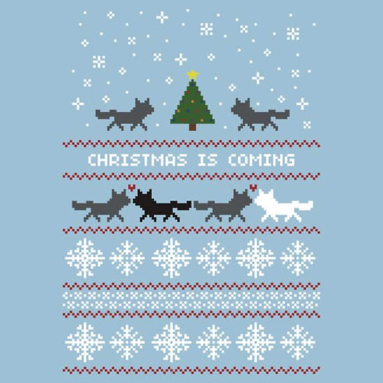 TShirtGifter presents: Christmas is coming Sweater + Card | Unisex T-Shirt