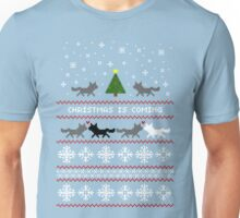 Christmas is coming Sweater + Card Unisex T-Shirt