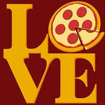 Pizza Love by vonplatypus