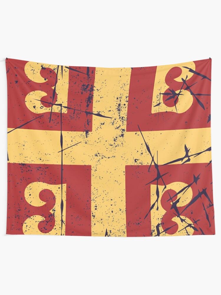 Byzantine Flag Eastern Roman Empire Tapestry By Quark Redbubble