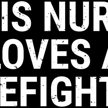 This Nurse Loves A Firefighter Couple Gift T-shirt by zcecmza