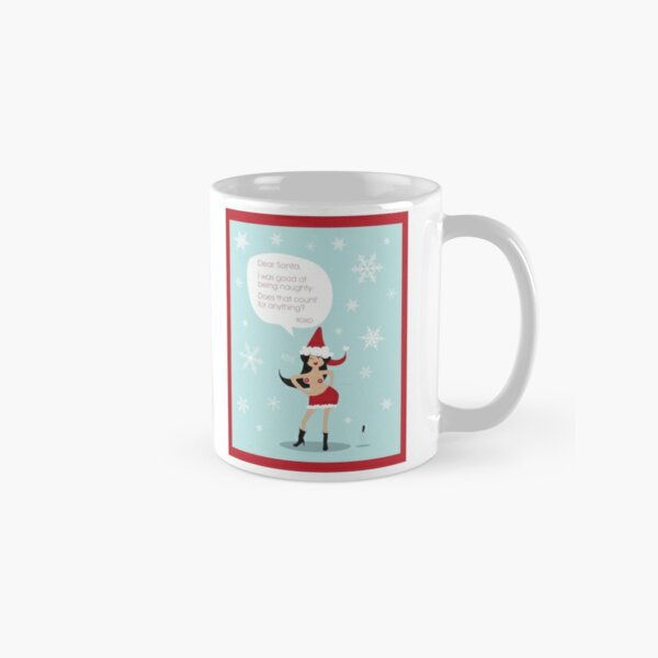 Naughty and Nice Classic Mug