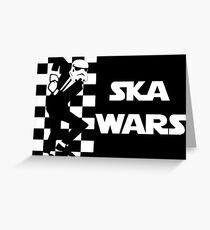 Ska Wars Greeting Card