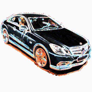 Mercedes E-Class by drkhrse