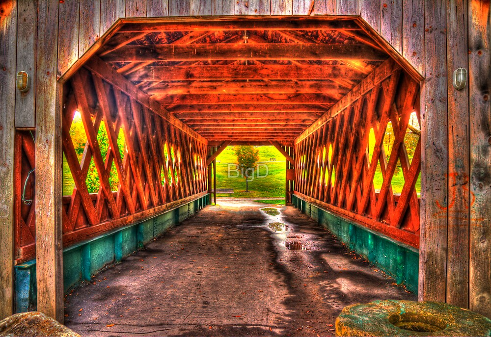 The Kissing Bridge by BigD