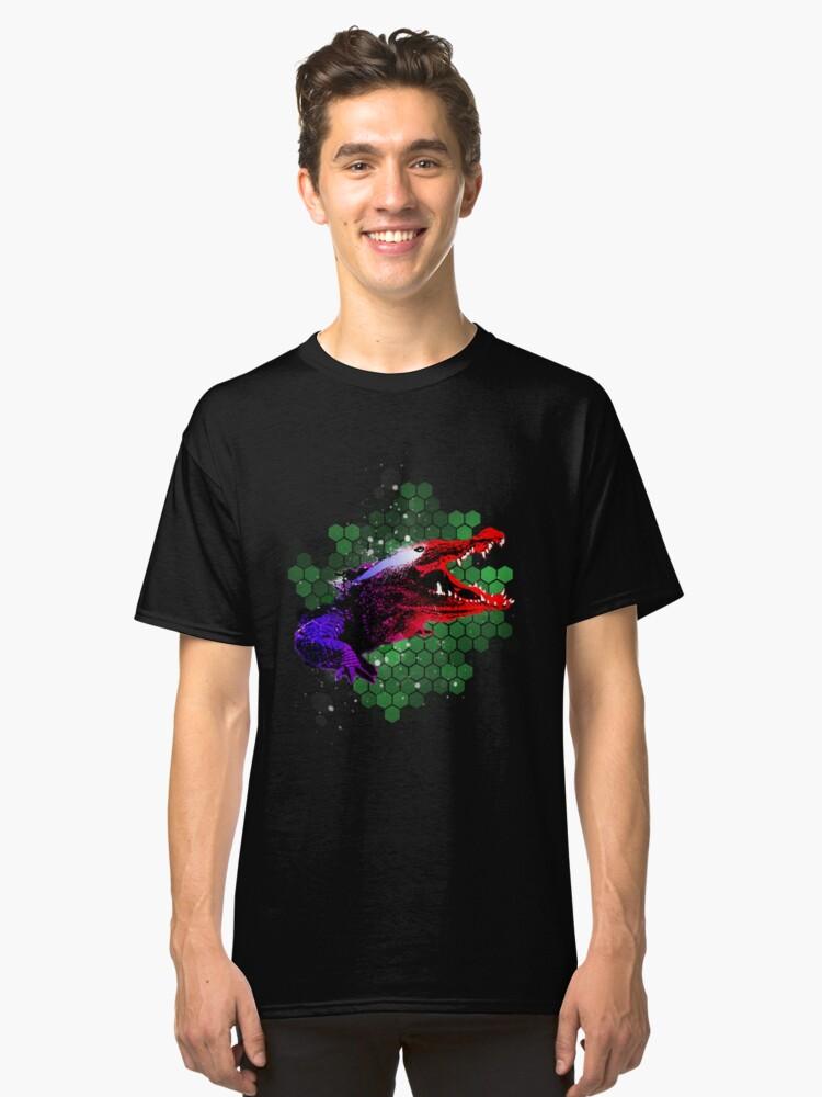 Crocodile  Classic T-Shirt Front