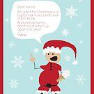 Dear Santa by marinaleclair