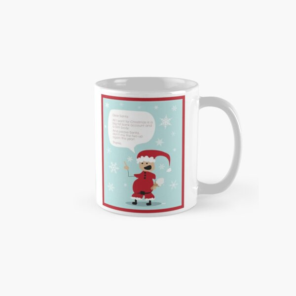 Dear Santa Classic Mug