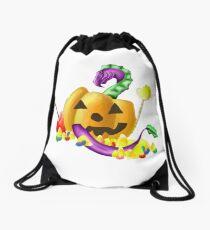 Halloween Dragon Drawstring Bag