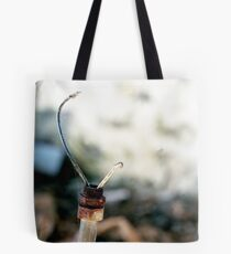 Broken Lamp Tote Bag