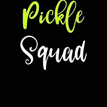 Pickleball Pickle Squad Pickle Lover Gift by stacyanne324