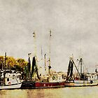 Shrimp Boats by A.R. Williams