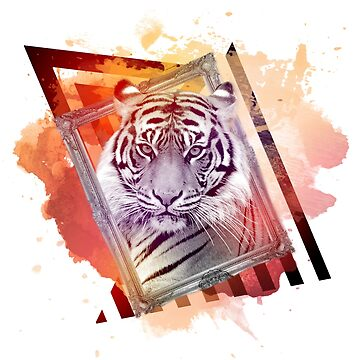 Framed Tiger by dave-simon