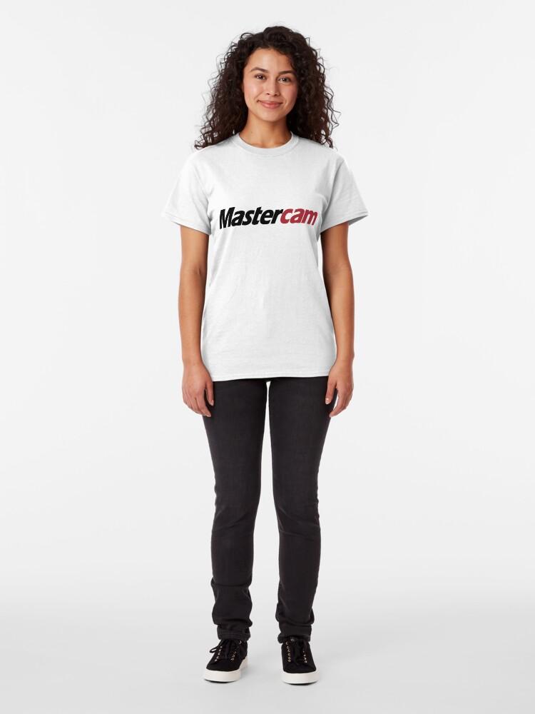 Alternate view of 3D Cad/Cam/Cae MasterCam Designer Classic T-Shirt
