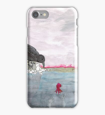 Dragged Down by Our Own Safe Havens iPhone Case/Skin
