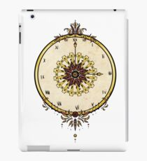 Ruby clock iPad Case/Skin