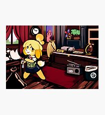 Spring Cleaning isabelle animal crossing Photographic Print
