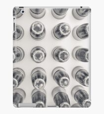 Hollow Point 9mm Bullets in Black and White iPad Case/Skin