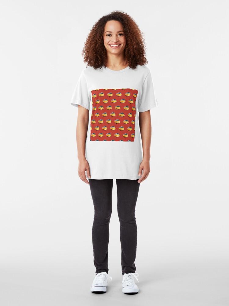 Alternative Ansicht von Bondi Combi Van Slim Fit T-Shirt