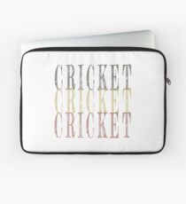 Retro Cricket design Laptop Sleeve
