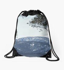 ALPINE LANDSCAPE Drawstring Bag