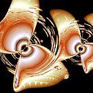 Golden Butterflies by Chazagirl