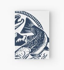 lake winnebago fishing Hardcover Journal