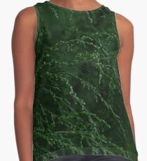 Green tree branches Contrast Tank