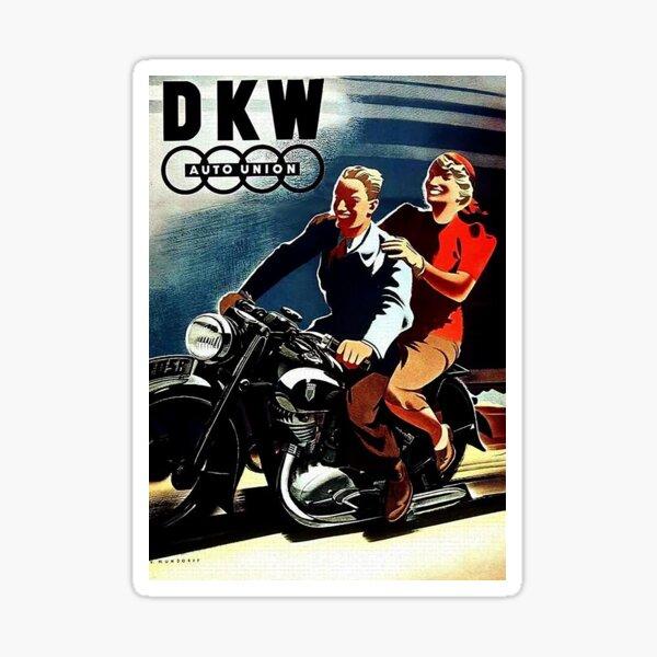 Motorcycle fun...Fabulous Fifties Sticker