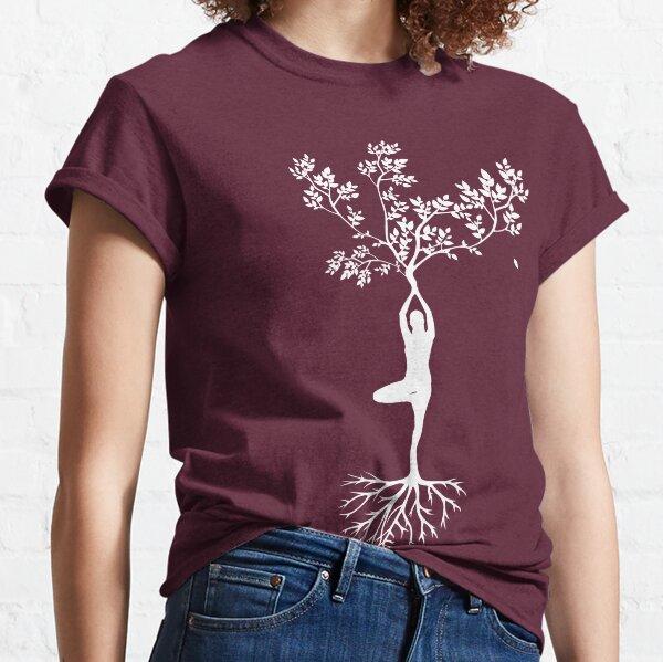 Yoga Balance Pose Classic T-Shirt