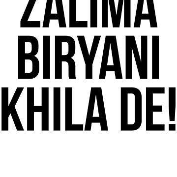 Zalima Biryani Khila De by kamrankhan