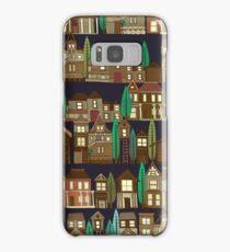 wooden buildings basalt Samsung Galaxy Case/Skin