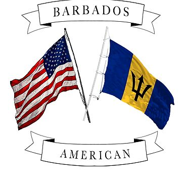 Barbados American ancestry flag design by jhussar