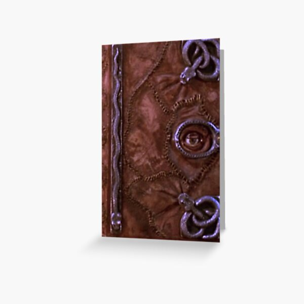 Winnifred Sanderson Spell Book - Hocus Pocus Greeting Card