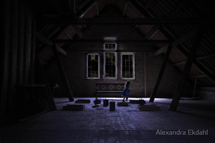 The girl in the Attic by Alexandra Ekdahl
