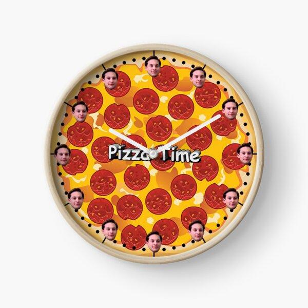 Pizza Time Clock Clock