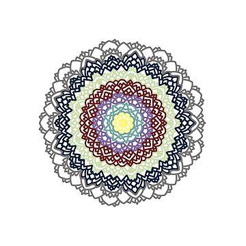 North Star mandala by tmntphan