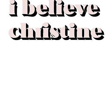 I BELIEVE CHRISTINE FORD by MelanixStyles