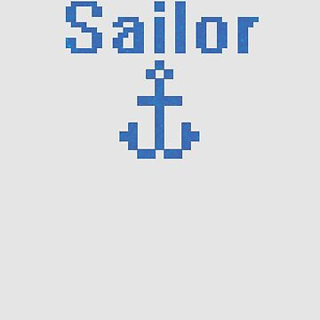 Sailor With Anchor by WordvineMedia