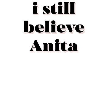 I still believe Anita Hill by MelanixStyles