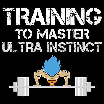 Training To Master Ultra Instinct by mBshirts