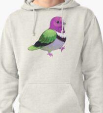 Pride Birds: Pink Headed Fruit Dove Pullover Hoodie